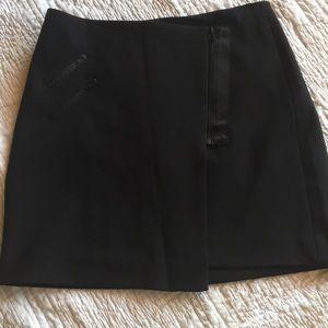 Madewell Black Mini Skirt